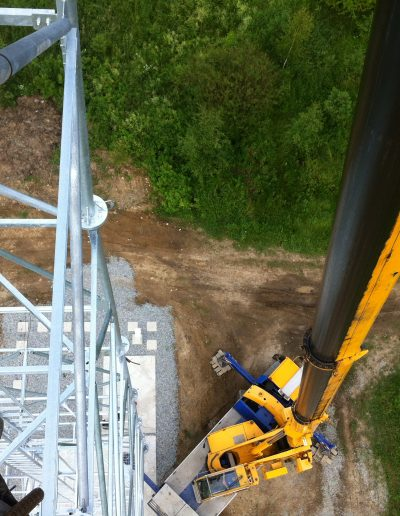 Stavanie stožiarov, Rakúsko 1