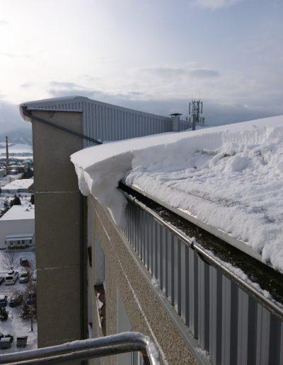 Zhadzovanie snehu